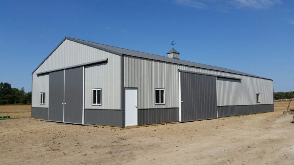 Metallic Steel Buildings