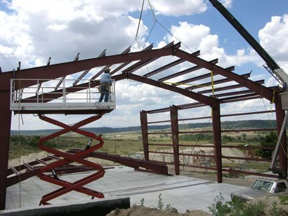 Pre fabricated steel buildings are cost effective and for Pre engineered trusses