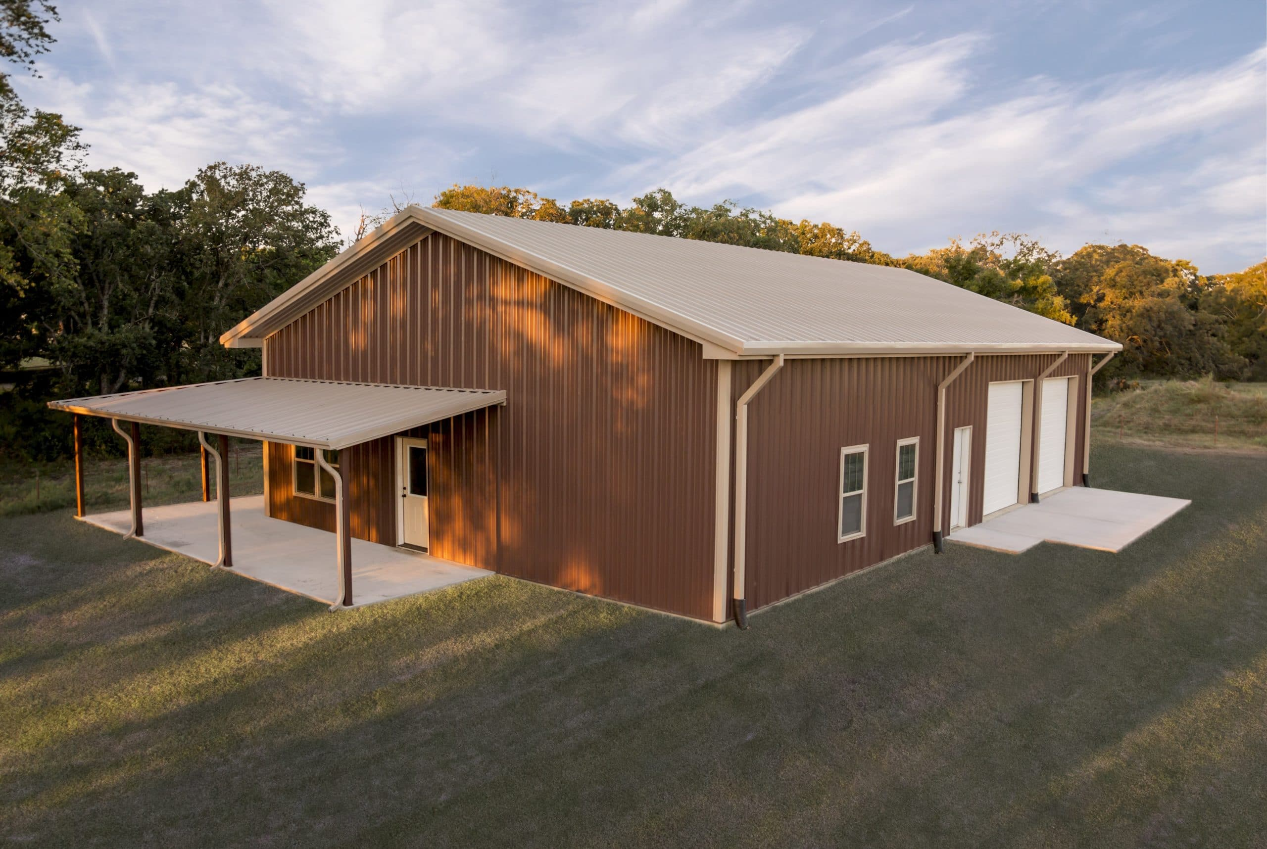 Mueller metal buildings exceed industry standards metal for Metal barn designs
