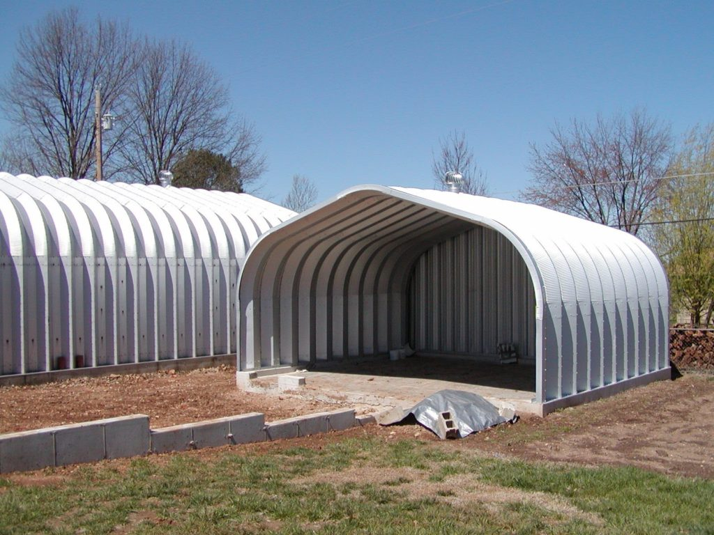 Select pioneer steel for arch style metal buildings for How to build a metal house