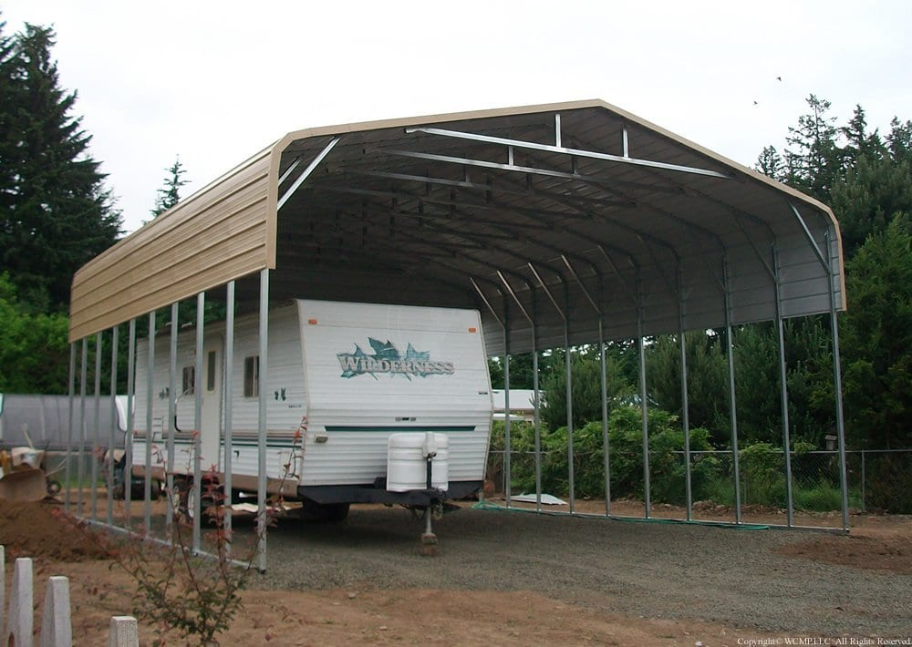 west coast metal building