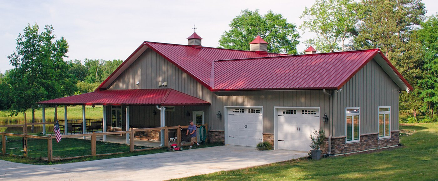 All you need to know about metal building homes metal for Pole barn home kits indiana