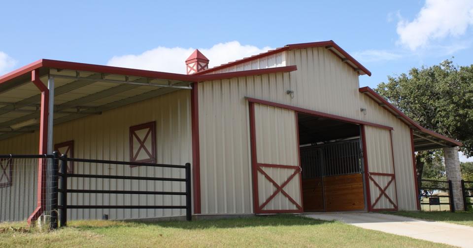 barn metal buildings